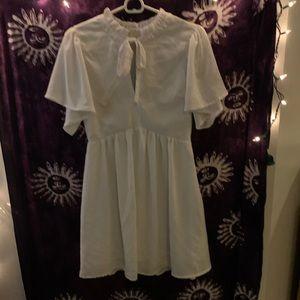 Love Riche White Sailor Style Dress